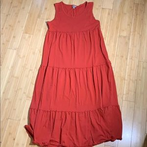 J. Jill tiered maxi dress size XL